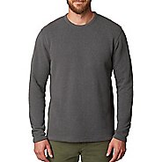 Mens prAna Sherpa Crew Long Sleeve Non-Technical Tops