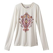 Womens Prana Soul Tee Long Sleeve Non-Technical Tops