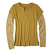 Womens Prana Stella Long Sleeve Non-Technical Tops