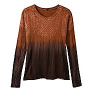 Womens Prana Sublime Tee Long Sleeve Non-Technical Tops