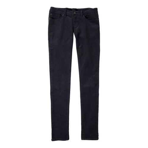Womens Prana Trinity Cord Full Length Pants - Coal 10