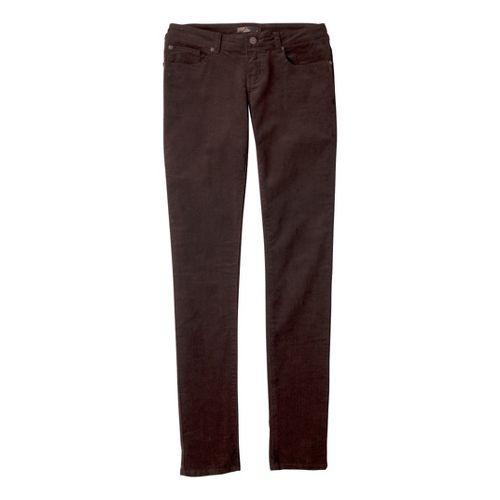 Womens Prana Trinity Cord Full Length Pants - Espresso 2