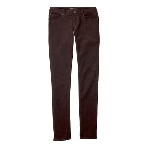 Womens Prana Trinity Cord Full Length Pants - Espresso 6