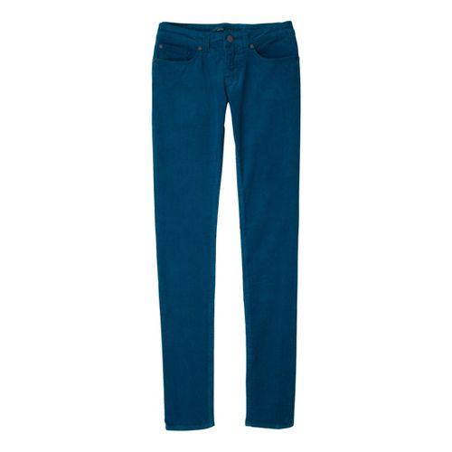Womens Prana Trinity Cord Full Length Pants - Ink Blue OS