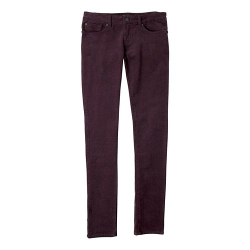 Womens Prana Trinity Cord Full Length Pants - Thistle 4