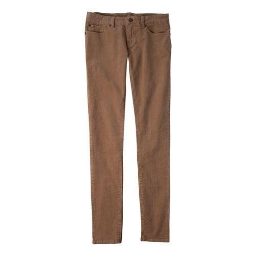 Womens Prana Trinity Cord Full Length Pants - Tan 10