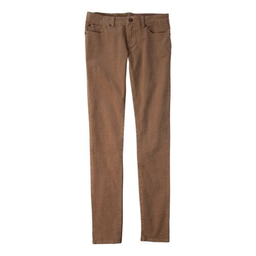 Womens Prana Trinity Cord Full Length Pants - Tan 14