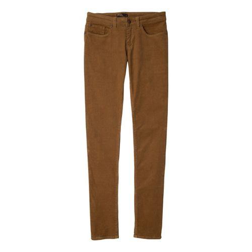 Womens Prana Trinity Cord Full Length Pants - Tortoise 10