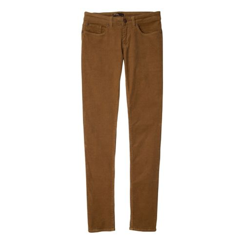 Womens Prana Trinity Cord Full Length Pants - Tortoise 4