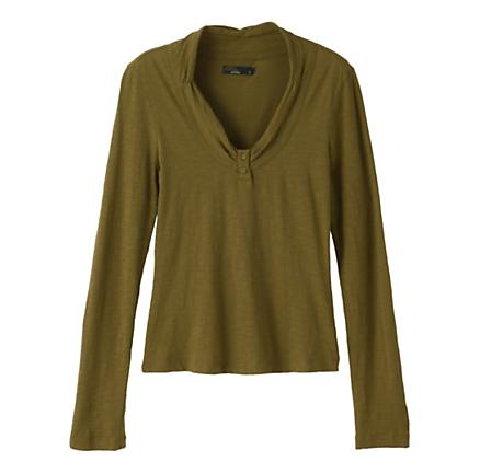 Womens Prana Vanessa Long Sleeve Non-Technical Tops