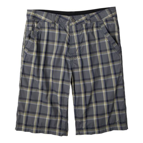 Mens Prana Winder Unlined Shorts - Gravel 36