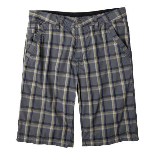 Mens Prana Winder Unlined Shorts - Gravel 38