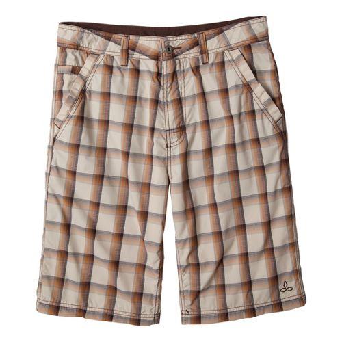 Mens Prana Winder Unlined Shorts - Stone 32
