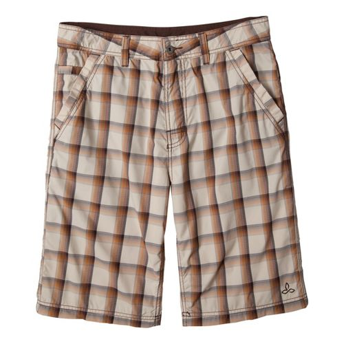 Mens Prana Winder Unlined Shorts - Stone 36