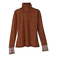 Womens Prana Yvette Turtleneck Long Sleeve Non-Technical Tops