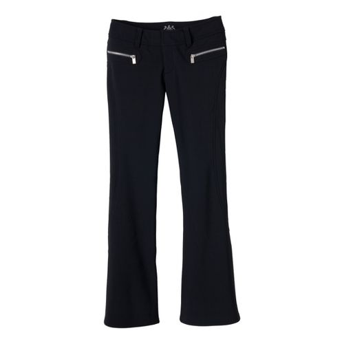 Womens Prana Alpine Full Length Pants - Black 10