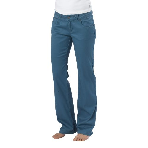 Womens Prana Bedford Canyon Full Length Pants - Blue Ash 0S