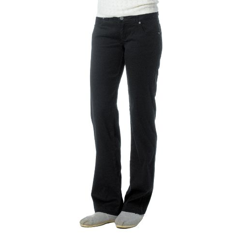 Womens Prana Bedford Canyon Full Length Pants - Black 10T