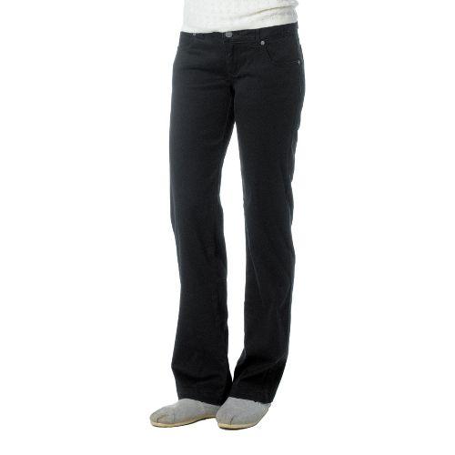 Womens Prana Bedford Canyon Full Length Pants - Black 8T