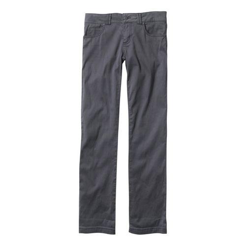 Womens Prana Bedford Canyon Full Length Pants - Coal 2S