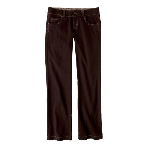 Womens Prana Bedford Canyon Full Length Pants - Espresso 8S