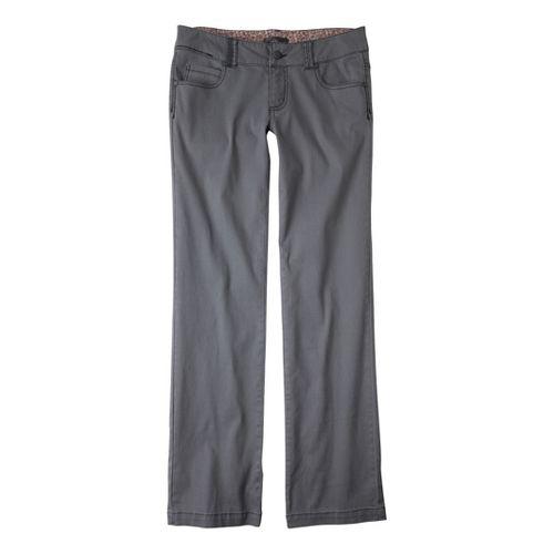 Womens Prana Bedford Canyon Full Length Pants - Gravel 6