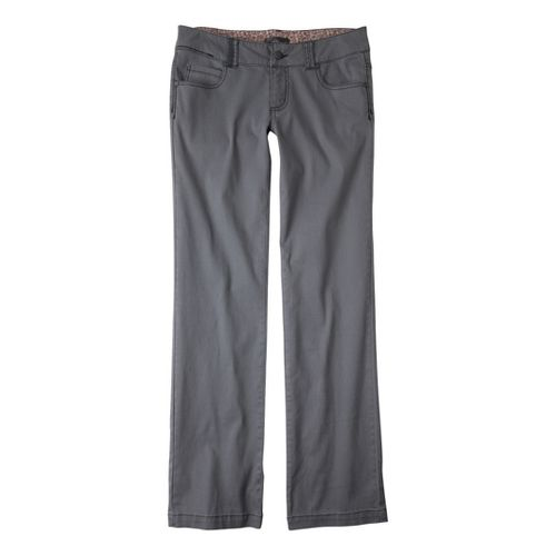 Womens Prana Bedford Canyon Full Length Pants - Gravel 8