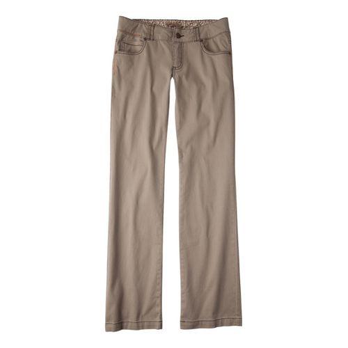 Womens Prana Bedford Canyon Full Length Pants - Khaki 2
