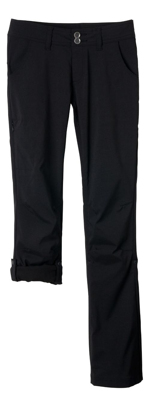 Womens Prana Halle Pants - Black 8-T