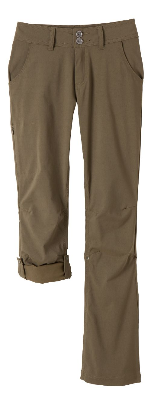 Womens Prana Halle Pants - Cargo Green 0-T