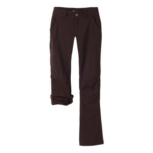 Womens Prana Halle Full Length Pants - Espresso 12
