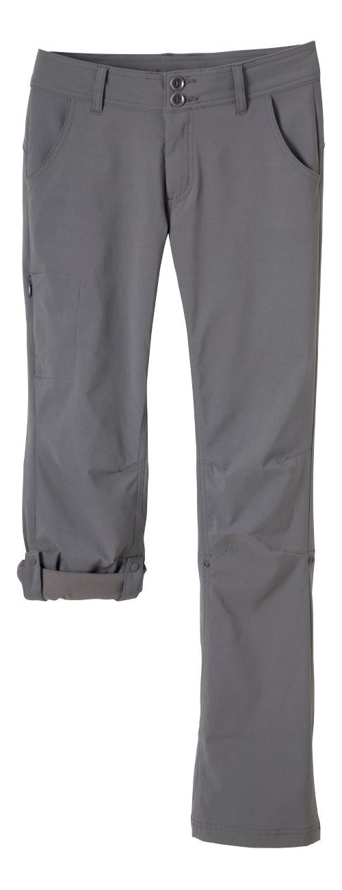 Womens Prana Halle Pants - Gravel 4-T