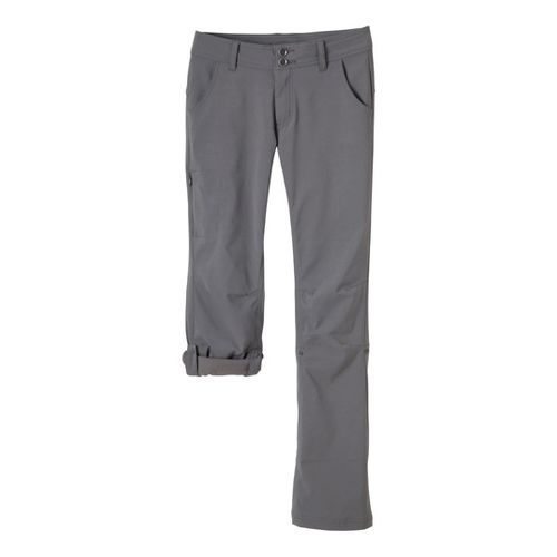 Womens Prana Halle Full Length Pants - Gravel 8