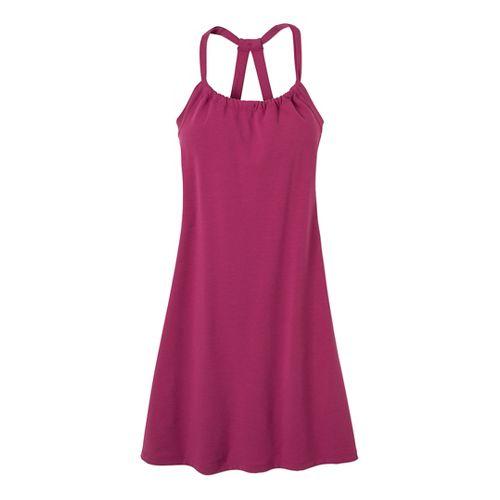 Womens Prana Quinn Dress Fitness Skirts - Boysenberry XL