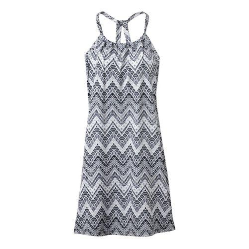 Womens Prana Quinn Dress Fitness Skirts - Black Tempo L