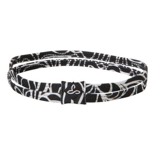 Prana Printed Double Headband Headwear - Black Lagoon