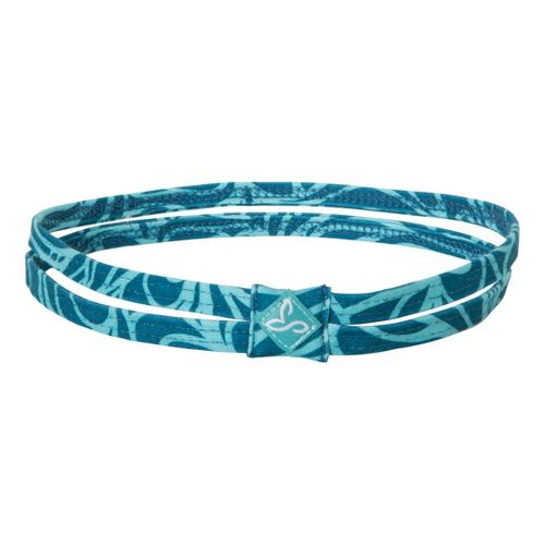 Prana Printed Double Headband Headwear - Ink Blue Lagoon
