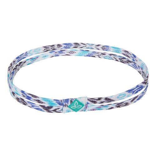 Prana Printed Double Headband Headwear - Sail Blue Tempo