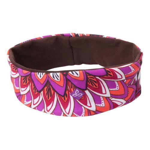 Prana Reversible Headband Headwear - Berry Flora