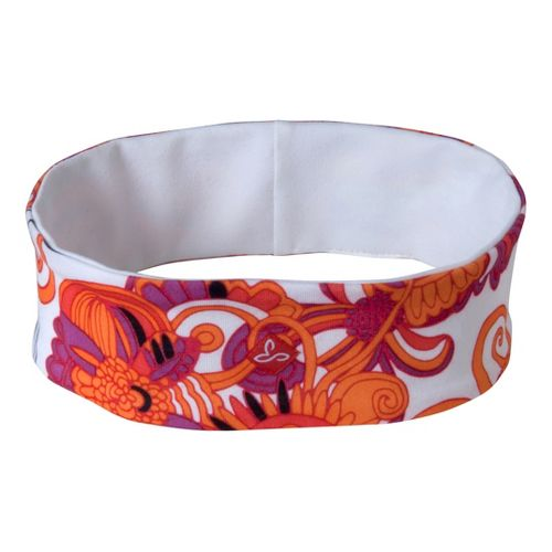 Prana Reversible Headband Headwear - Claret Flower Power