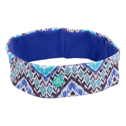 Prana Reversible Headband Headwear - Sail Blue Tempo