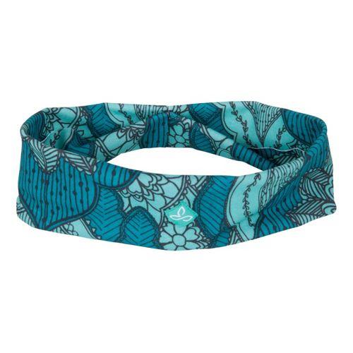 Prana Large Headband Headwear - Capri Blue Scallop