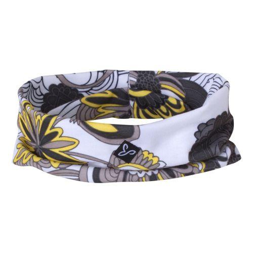 Prana Large Headband Headwear - Gravel Flower Power