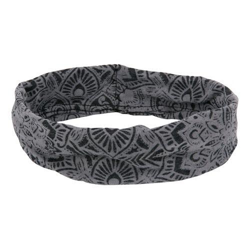 Prana Burnout Headband Headwear - Black Posy