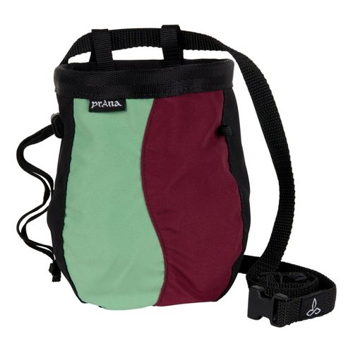 Prana Geo Chalk Bag with Belt Holders - Burgundy