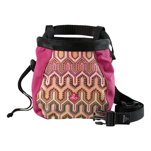 Prana Women's Chalk Bag w/Belt Fitness Equipment - Fuchsia Ibiza