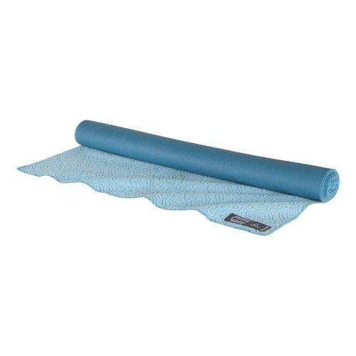 Prana Synergy Towel Mat Fitness Equipment - Blue