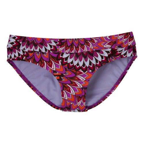 Womens Prana Ramba Bottom UniSuits - Neon Berry Flora S