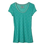 Womens Prana Ally Short Sleeve Non-Technical Tops