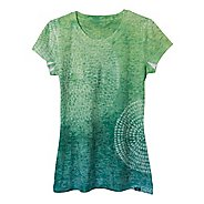 Womens Prana Spiral Tee Short Sleeve Non-Technical Tops